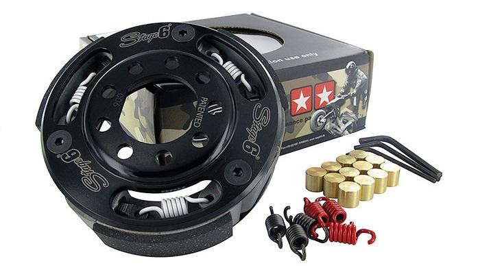 Torque Control MKII : le nouvel embrayage sport pour maxiscooter par Stage6
