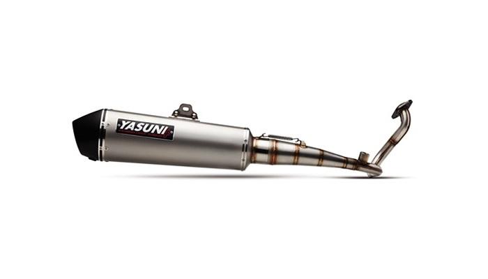 Pot d'échappement Yasuni 4 : plus stylé, plus léger