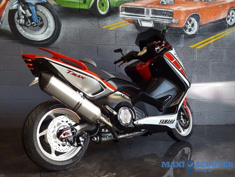 Yamaha Tmax 530 Série Limitée 50e Anniversaire Actualités