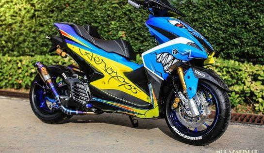 Yamaha Aerox 155 Shark by Murazaki Shop