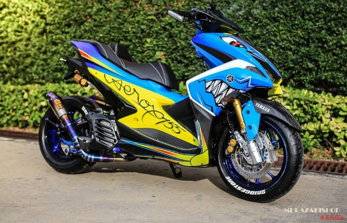 Yamaha Aerox 155 Shark by Murazaki Shop