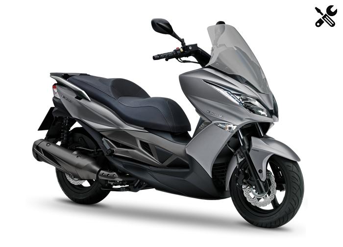 Kawasaki J300 – Caractéristiques techniques