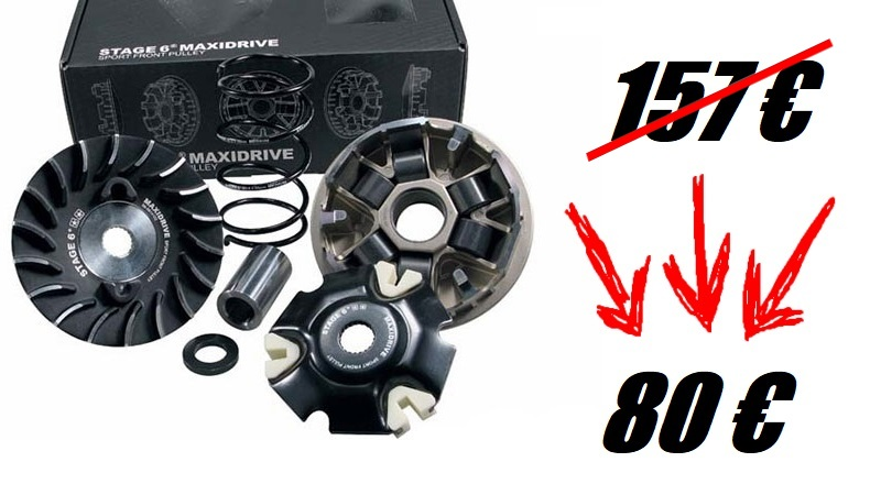 Cyber Week Maxiscoot : variateur Stage6 Maxi Drive à -50 %