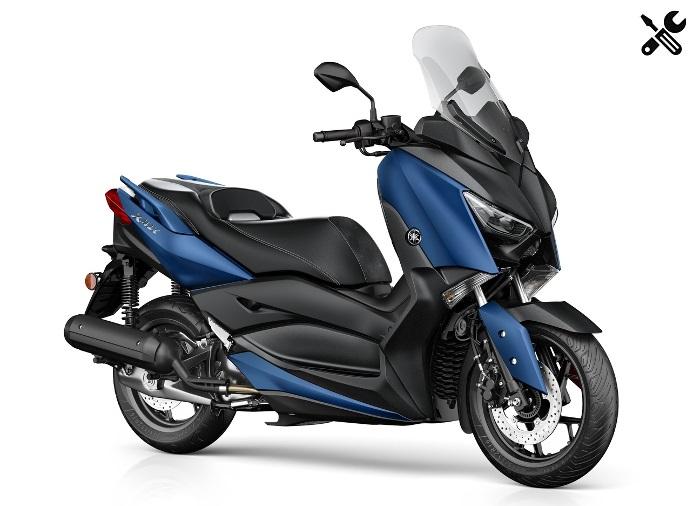 Yamaha XMax 125 – Caractéristiques techniques